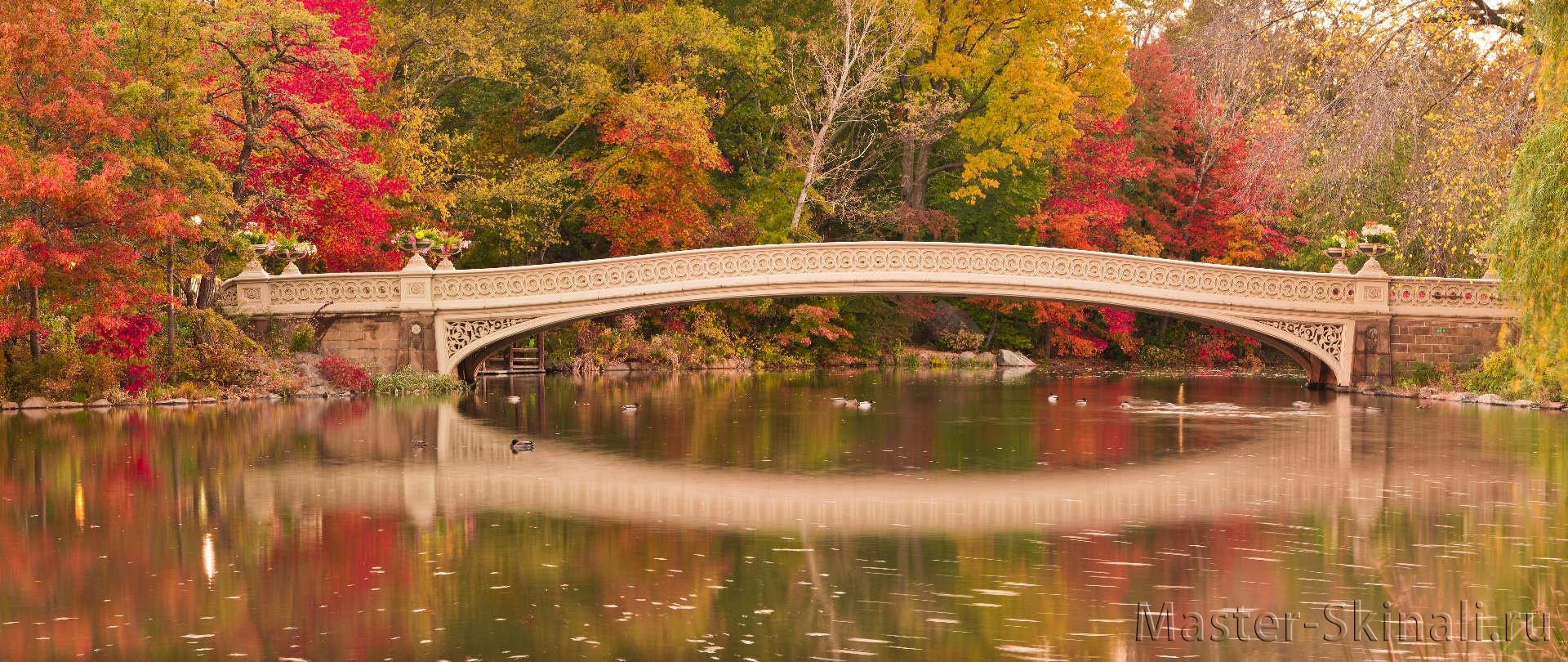 панорамная картинка осень это одна самых